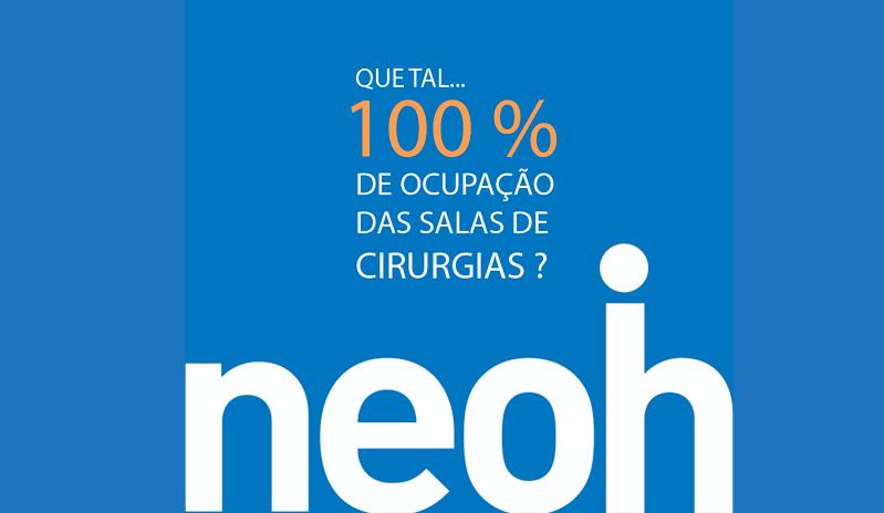 Que tal 100% de ocupação das salas de cirurgias?
